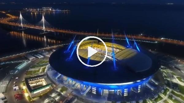 'Zenit'in yeni stadı göz kamaştırdı