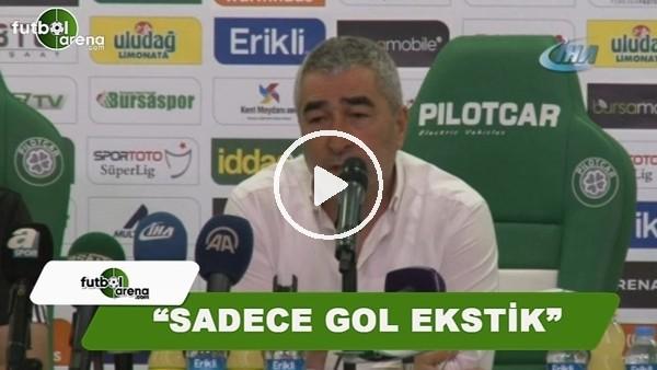 """Samet Aybaba: """"Sadece gol eksikti"""""""