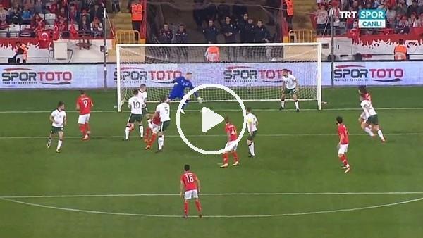 Mehmet Topal'ın İrlanda Cumhuriyeti'ne attığı gol