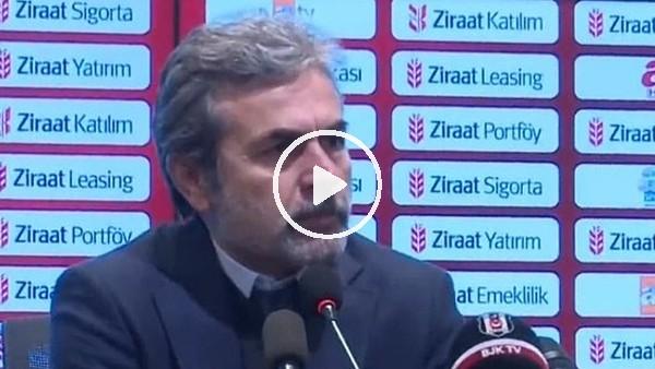 Aykut Kocaman'ın Beşiktaş maçı sonrası açıklamaları