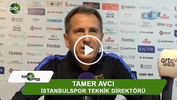 """Tamer Avcı: """"Zor bir zeminde maç oynadık"""""""