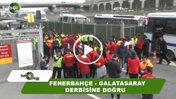 Galatasaray taraftarı, Türk Telekom Stadı önünde toplanıyor