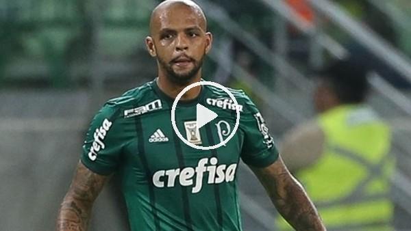 Felipe Melo rakibini yine deşti!