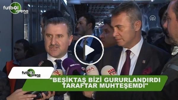 """Osman Aşkın Bak: """"Beşiktaş bizi gururlandırdı, taraftar muhteşemdi"""""""