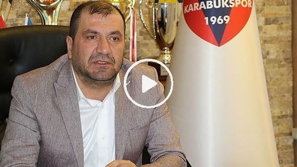 """Karabükspor Başkanı MehmetAytekin: """"Aldığımız her puan borcumuzdan düşüyor"""""""