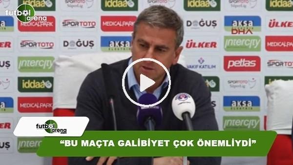 """Hamza Hamzaoğlu: """"Bu maçta galibiyet çok önemliydi"""""""