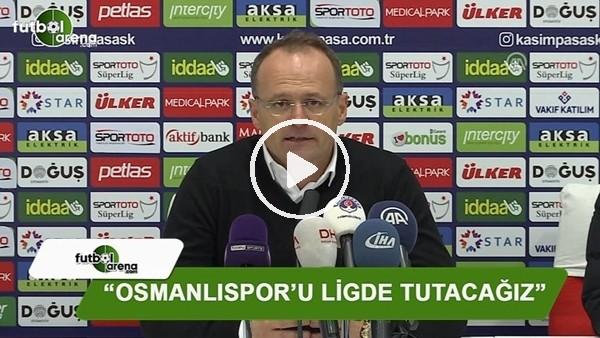 İrfan Buz: ''Osmanlıspor'u ligde tutacağız''