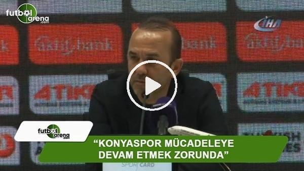 """Mehmet Özdilek: """"Konyaspor mücadeleye devam etmek zorunda"""""""