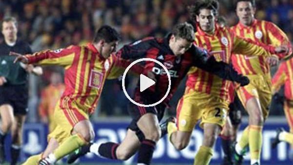 'UEFA Şampiyonlar Ligi'nde çeyrek finale kalan ilk Türk takımı  Galatasaray!