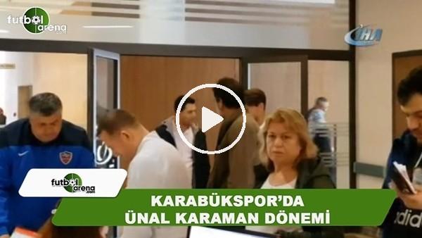 Karabükspor'da Ünal Karaman dönemi