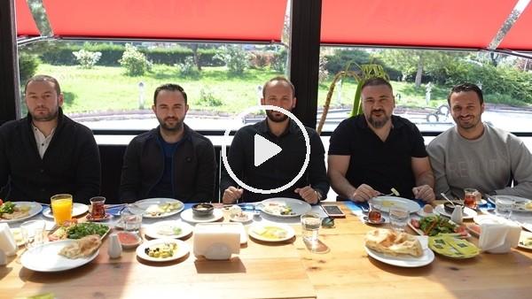 Konyaspor teknik heyeti ve oyuncuları kahvaltıda buluştu