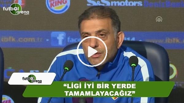 """Hakan Ertürk: """"Ligi iyi bir yerde tamamlayacağız"""""""