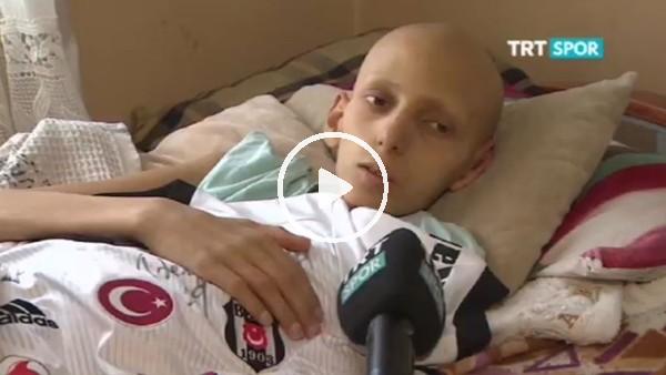 Kemik kanseri hastası minik Yusuf'un en büyük hayali Quaresma ile tanışmak