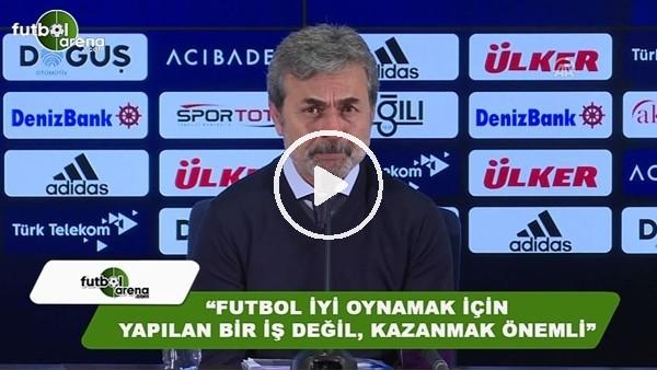 """Aykut Kocaman: """"Futbol iyi oynamak için yapılan bir iş değil, kazanmak önemli"""""""