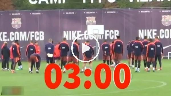 Messi ve Suarez, takım arkadaşlarını bekletirse...