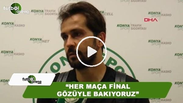 """Ali Turan: """"Her maça final gözüyle bakıyoruz"""""""