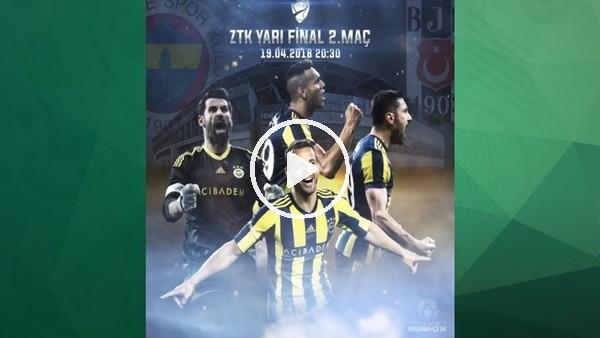 Fenerbahçe'den Beşiktaş derbisi için paylaşım! #SaldırFener