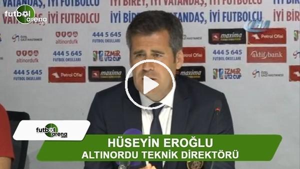 """Hüseyin Eroğlu: """"Kazanmamız gerekiyordu"""""""