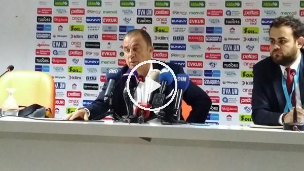 Fatih Terim'in Alanyaspor maçı sonrası açıklamaları