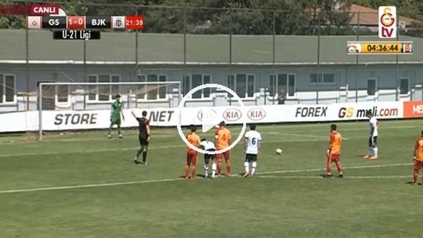Batuhan Ahmet Şen'in Beşiktaş derisinde kurtardığı penaltı