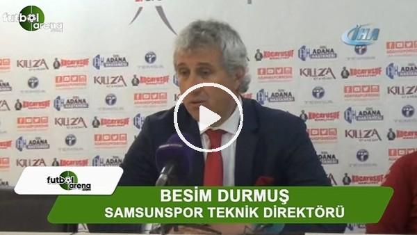 """Besim Durmuş: """"Sahadaki mücadeleden memnunum"""""""
