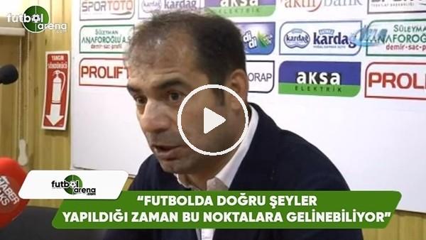"""' Metin Diyadin: """"Futbolda doğru şeyler yapılmadığı zaman bu noktalara gelinebiliyor"""""""