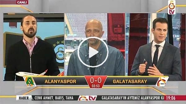 Gomis'in Alanyaspor'a attığı golde GS TV!
