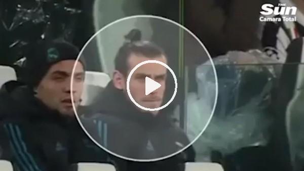 Bale, Cristiano Ronaldo'nun golüne sevinmedi