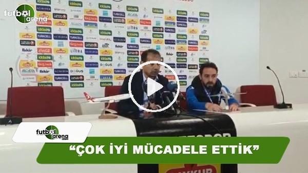 """Metin Diyadin: """"Çok iyi mücadele etti"""""""