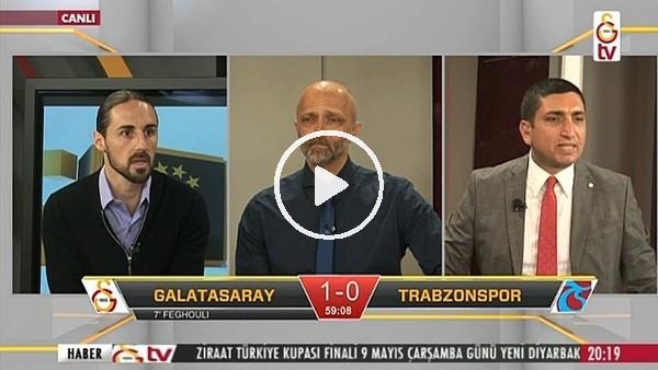 Gomis'in Trabzonspor'a attığı golde GS TV!