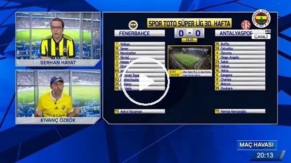 Aatif Chahechouhe'nun Antalyaspor'a attığı golde FB TV!
