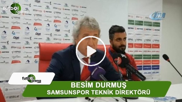 """Besim Durmuş: """"Bugün kazansak ligi bitirebilirdik"""""""
