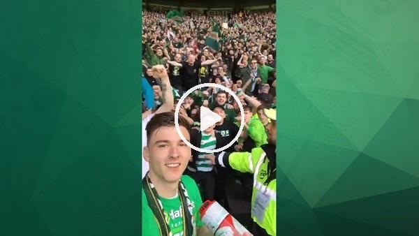 Celtic'te şampiyonlok coşkusu