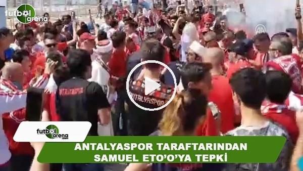 Antalyaspor taraftarından Eto'o'ya tepki