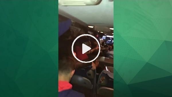 Gençlerbirliği futbolcuları Galatasaray galibiyetini böyle kutladı
