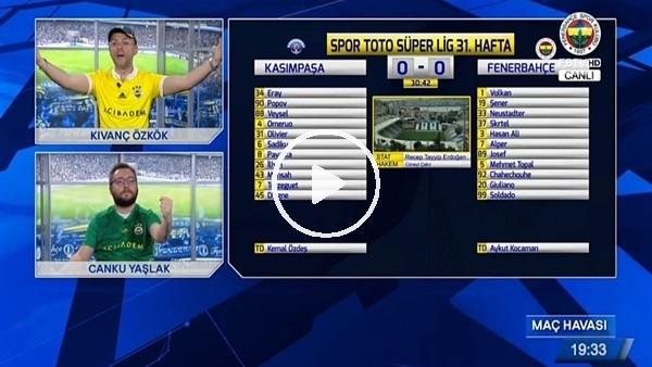 Josef de Sozua'nın Kasımpaşa'ya attığı golde FB TV!