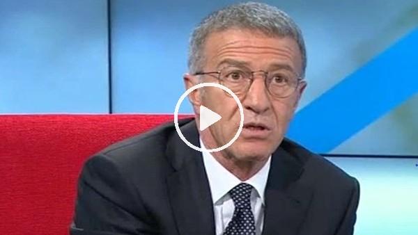 """Ahmet Ağaoğlu: """"Nasıl şampiyonluk sözü verelim? Tablo ortada.."""""""