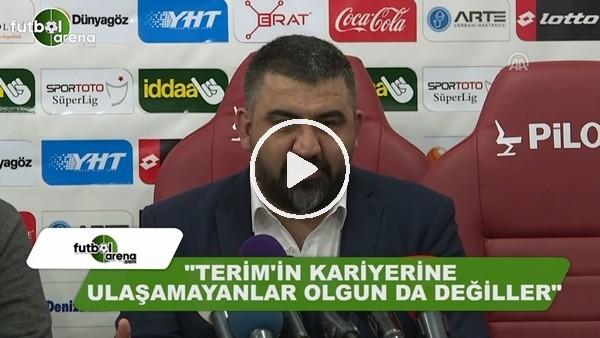 """Ümit Özat: """"Fatih Terim'in kariyerine ulaşamayanlar olgun da değiller"""""""