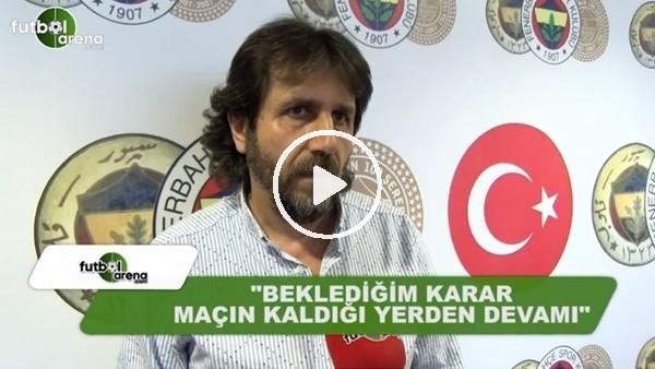 """Aygün Özipek: """"Beklediğim karar maçın kaldığı yerden devamı"""""""