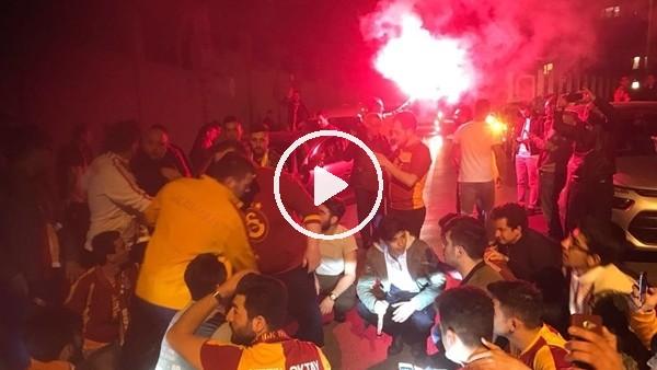 Galatasaray'a şampiyon gibi karşılama