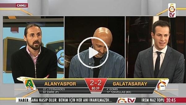 Sinan Gümüş'ün Alanyaspor'a attığı gol GS TV spikerlerini coşturdu