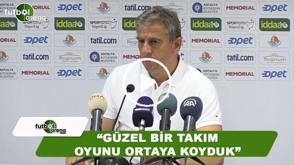 """Hamza Hamzaoğlu: """"Güzel bir takım oyunu ortaya koyduk"""""""