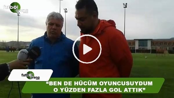"""Sumudica: """"Ben de hücüm oyuncusuydum, o yüzden fazla gol attık"""""""