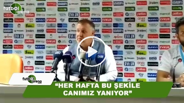 """Mesut Bakkal: """"Her hafta bu şekilde canımız yanıyor"""""""