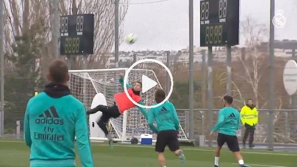Ronaldo, Juventus'a attığı golün aynısını antrenmanda attı