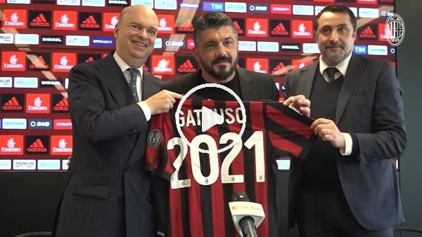 'Milan, Gattuso ile 2 yıllık sözleşme uzattı