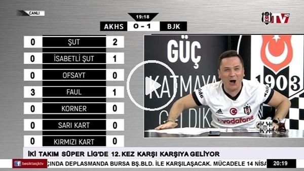 Negredo'nun Akhisarspor'a attığı golde BJK TV!