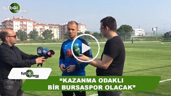 """Bursaspor'un yeni teknik direktörü Mustafa Er: """"Kazanma odaklı bir Bursaspor olacak"""""""