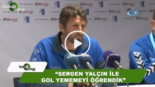 """Abdurrahman Baysangur: """"Sergen Yalçın ile gol yememeyi öğrendik"""""""