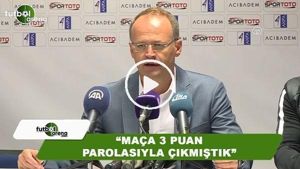 """İrfan Buz: """"Maça 3 puan parolasıyla çıkmıştık"""""""